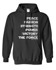 Sith Code! Love this! A Hoodie every Sith should own!