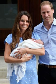 Royal baby photos: The Duke and Duchess of Cambridge show off their royal baby for the first time
