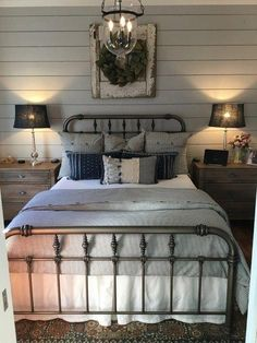 68 Farmhouse Bedding Bedding And Furniture For Your Guest Bedroom Ideas 6 - myhomeorganic Minimalist Bedroom, Modern Bedroom, Contemporary Bedroom, Bedroom Neutral, Bedroom Colors, Modern Contemporary, Hotel Lounge, Plywood Furniture, Bedroom Furniture