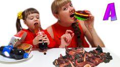 Обычная Еда против Мармелада - ЭКСТРЕМАЛЬНЫЙ ЧЕЛЛЕНДЖ !! Real Food vs Gu...