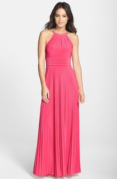 Eliza J Pleated Jersey Maxi Dress available at #Nordstrom