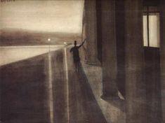 Night. Leon Spilliaert