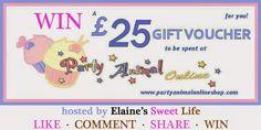 Elaine's Sweet Life: 500 Fan Giveawayhttp://blog.elainessweetlife.com/2014/08/500-fan-giveaway_2.html