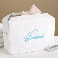 Bridesmaid Cosmetic Bag | The Bronx Design Group