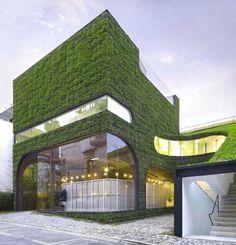 Designer Mass Studies for Belgian fashion designer Ann Demeulemeester's store in Seoul, South Korea.
