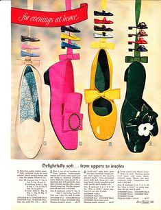 Mod Shoes - Perfect for MOD dresses and at great price. 60s Shoes, Shoes Ads, Retro Shoes, Vintage Shoes, Vintage Accessories, Vintage Outfits, Sixties Fashion, 60 Fashion, Fashion History