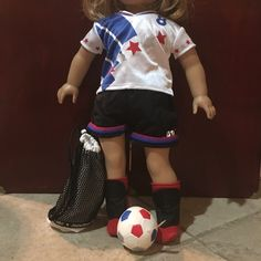 For Sale: American Girl USA Soccer Outfi for $25