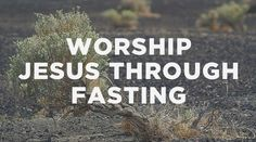 Fasting is a common practice in the church, but ultimately, it's between you and Jesus.