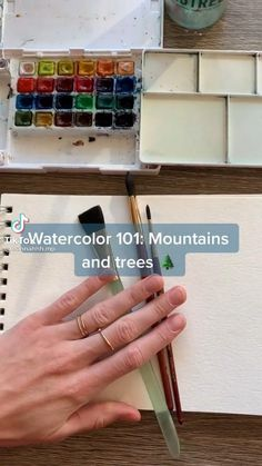 Watercolor Art Lessons, Watercolour Tutorials, Watercolor Paintings, Art Drawings Sketches Simple, Easy Drawings, Diy Canvas Art, Art Techniques, Art Tutorials, Art Projects