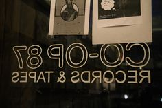 The Record Shops of New York: Co-op 87 Records Shops, Company Logo, New York, Usa, Friends, Shopping, Tents, New York City, Amigos