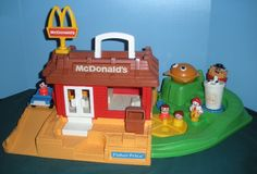 Vintage Fisher Price McDonalds -  front