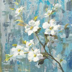 Graceful Magnolia II Posters van Danhui Nai - bij AllPosters.be