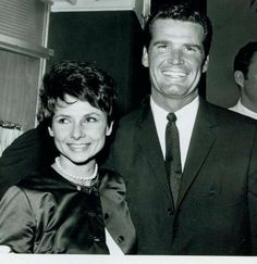 James Garner and wife Lois! They were (and still are) married for life!!