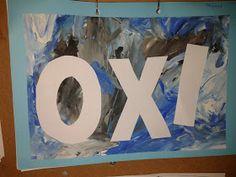 Στο σχολείο : Η γιορτή του ΟΧΙ Diy And Crafts, Crafts For Kids, 28th October, Art School, Kindergarten, Education, Paper, Blog, Crafts For Toddlers