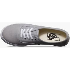 Vans Authentic Lo Pro Womens Shoes (64 SGD) ❤ liked on Polyvore featuring shoes, sneakers, lacing sneakers, lace up shoes, vans trainers, vans footwear and vans sneakers