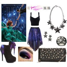 Outfit inspired by These Broken Stars by Amie Kaufman & Meagan Spooner
