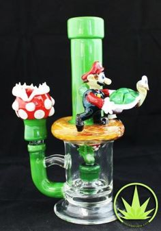 "Spotted another Mario themed piece over at Based Buddha! ""Bong of the Day"" is where I feature a cool new smoking tool everyday. It is not always a bong though. It will include pipes, vaporizers, or whatever else you like to use to smoke that sweet Mary Jane, as well as a link to where …"