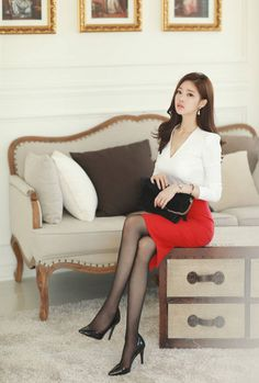 愼 ☼ ριητεrεsτ policies respected.( *`ω´) If you don't like what you see❤, please be kind and just move along. Photo Glamour, Asian Beauty, Korean Beauty, Sexy Stockings, Beautiful Asian Women, Korean Outfits, Up Girl, Sexy Asian Girls, Korean Women