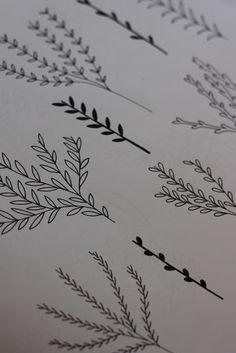 Floral Drawings | Hello Nancy