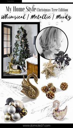 Whimsical Swan Inspired Christmas Tree - Domicile 37