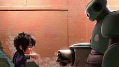Big Hero 6 Clip: The Classic Baymax Fist Bump One of my fave scenes!