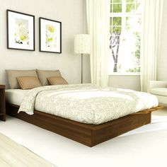 dCOR design Plateau Platform Bed