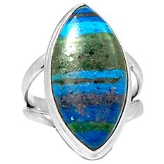 Rainbow Calsilica 925 Sterling Silver Ring Jewelry s.8 RBCR512