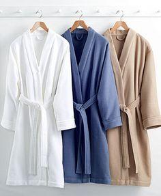 Hotel Collection Waffle Bath Robe