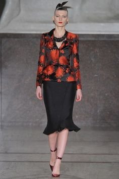 See the complete Zac Posen Fall 2012 Ready-to-Wear collection.