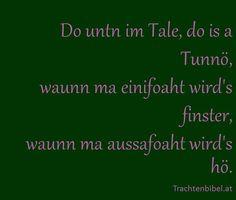 Gstanzl True Words, Quotes