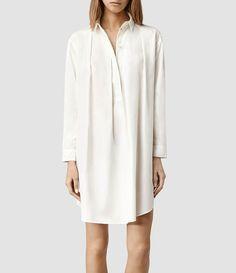 Womens Lana Shirt Dress (Midnight) - product_image_alt_text_1