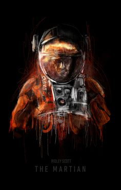 "filmhabits: "" The Martian Created by Rafał Rola """