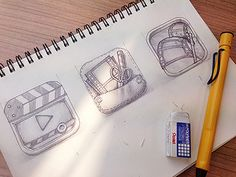 all about the sketching process // buatoom // dribbble