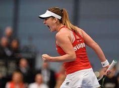 Blog Esportivo do Suíço: Campeã da Austrália Kerber perde em casa para suíça Bencic na Fed Cup