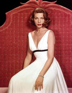 "Lauren Bacall for ""Written on the Wind"""