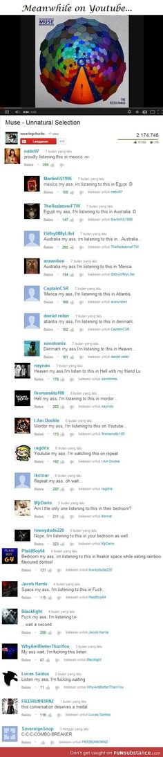 Best youtube thread ever