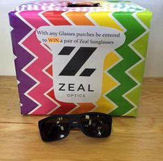 With every Glasses Purchase you make in store you will be entered to win a pair on ZEAL  sunglasses !#contest #zeals #sunglasses #zealsunglasses #gieaway #visioncarelangley #langleybc #localbusiness #optometry