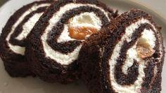 Švýcarská roláda z těsta jemného jako pavučinka – RECETIMA Sushi, Cheesecake, Food And Drink, Nutella, Fitness, Keto, Meals, Cookies, Ethnic Recipes