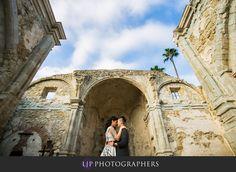 Mission San Juan Capistrano Engagement   Sandra & Kelly