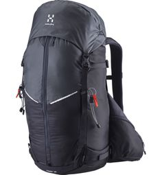 Designed for a weekend trip, our Rand 40 is a light ski and mountaineering pack with an amazing set of features. It carries both skis and snowboards, and the suspension system is comfy and supportive.