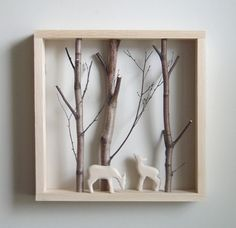 love little shadowbox dioramas