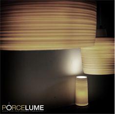 Porcelain lights by Colin Hopkins @ www.porcelume.com.au Pendant Lights, Product Design, Wall Lights, Porcelain, Ceramics, Lighting, Interior, Crafts, Home Decor