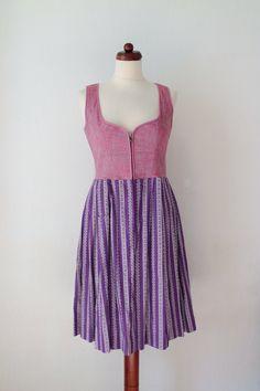 Vintage Dirndl Dress  1970s German von PaperdollVintageShop, €59.90