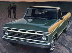 Truck... I really want an old Ford F150