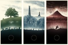 Another selection of lord of the rings tattoo ideas, again on the side with white ink