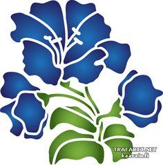 Englanti kukka | Sapluunoita | ostaa verkosta