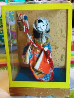 Antique Japanese Star Festival Doll: DM TEAM