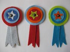 Vilten medailles voor jongens
