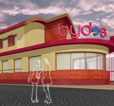 Administrative building BYDOS, architecture by Artlandia