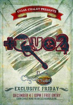 +Que2 @ Cigar Chalet #sondeaquipr #+que2 #cigarchalet #aguadilla